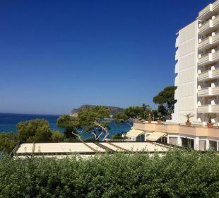 ..Blick aufs Hotel & Terrasse Universal Hotel Lido Park