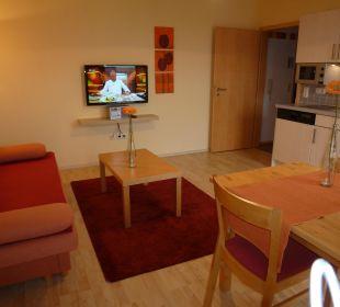 Ferienwohnung 6 Wohnküche Gästezimmer Fewos Familie Neubert