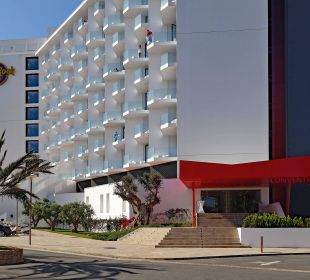 Vorede Eingang Hard Rock Hotel Ibiza