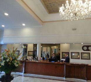 Rezeption + Eingang Hotel De La Paix