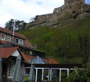 Hotel unter der Burgruine Hardenberg BurgHotel