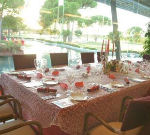 TUI / Select Diner im Golfclub Gloria Verde Resort