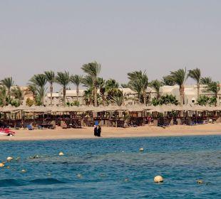 Blick auf den Hotelstand Hotel Iberotel Makadi Beach