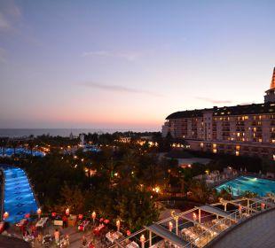 Vom Balkon Zimmer 3048 Hotel Delphin Imperial