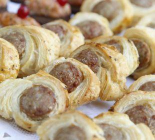 Fingerfood während der Firmenveranstaltung Weinhaus Henninger Hotel