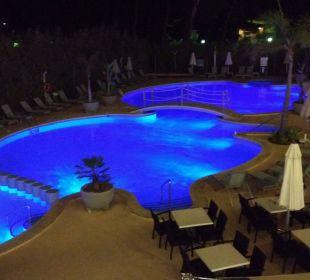 Blick vom Balkon Hotel JS Alcudi Mar