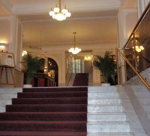 Aufgang Hotel Panhans