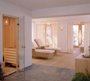 Sauna und Relaxbereich für unsere Gäste Strobl