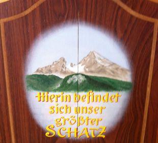 Decoration details Hotel Bavaria Berchtesgaden