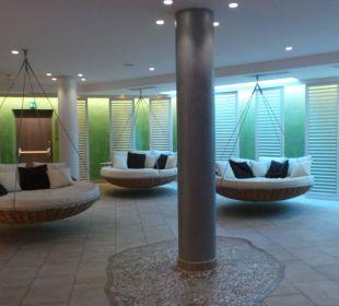 Hallenbad Sitzinseln Luxury DolceVita Resort Preidlhof