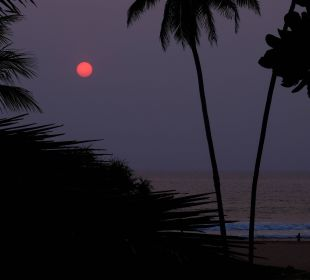 Und noch ein Sonnenuntergang Hotel Susantha Garden