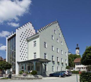 Hoteleingang Hotel Angerbräu