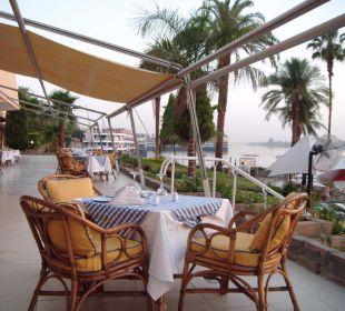 Ausblick beim Essen Achti Resort Luxor