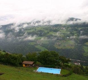 Solarbeheizter Außenpool Berglandhotel Untertheimerhof