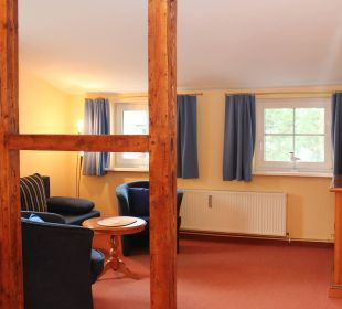 Doppelzimmer Comfort Wohnbeispiel Villa Strandkorb Hotel Garni