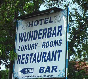 Übernachtung & Retaurant Wunderbar Beach Club Hotel