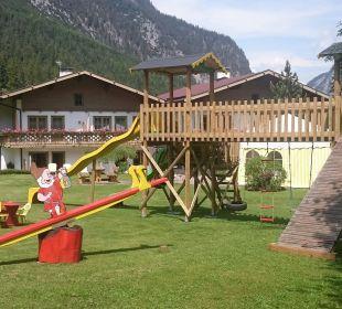 2500 m2 Gartenanlage Ferienhaus Kirchplatzl