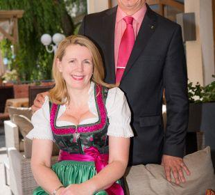 Ihre Gastgeber, Hugo & Gertrude Westreicher Hotel Cervosa