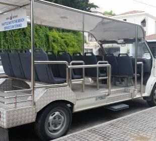 Shuttlebus zum Strand  Hotel Defne Defnem