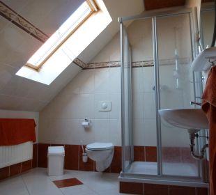 Badezimmer mit Dusche Apart Hotel Wernigerode
