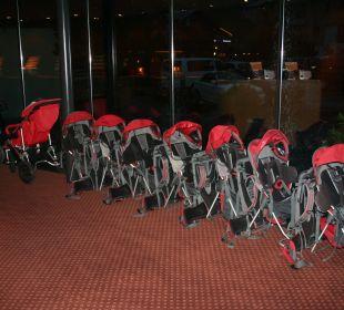 Wandertragen für die Kids Gorfion - Das Familienhotel
