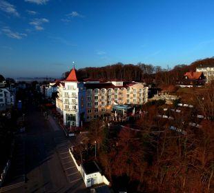 Sonnenaufgang an der Promenade Hotel Travel Charme Kurhaus Sellin
