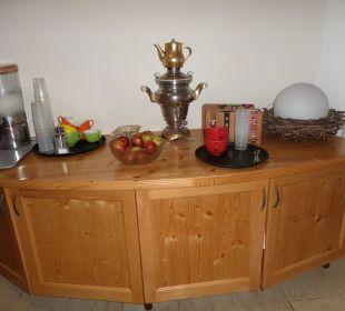 Wasser, Tee, Obst Hotel Katschberghof