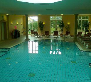 Und nochmal der Pool Romantik Hotel Bösehof