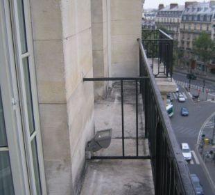 Ausblick vom Balkon K+K Hotel Cayré