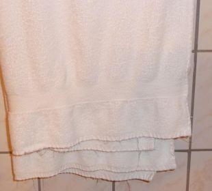 Verschlissene Handtücher Ruchti's Hotel & Restaurant