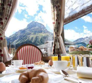 Frühstück Romantik Hotel Die Krone von Lech