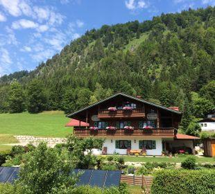 Aussen Sommer Distanz Landhaus Franziskus