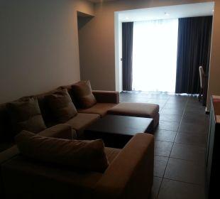 Sitzecke mit Fernsehr Hotel Avala
