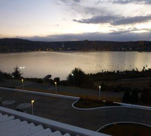 Vor dem Hotel aufgenommen Hotel Libertador Lago Titicaca