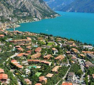 Panoramica di Limone sul Garda Park Hotel Imperial Centro Tao - Natural Medical Spa