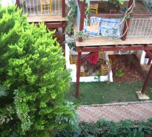 Blick von Treppe Nebenhaus