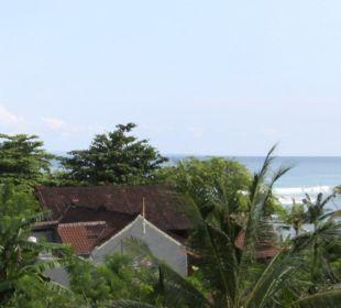 Rumah Isah - Meerblick von der Aussichtsterrasse Nusa Indah Bungalows & Villa