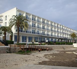 """ der Hausstrand"" Hotel Simbad"