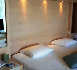 Großes gutes Bett Club Aldiana Zypern