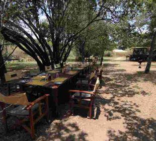 Mittagessen Mara Bush Camp