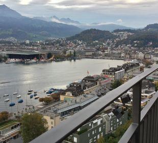 Montana Spa Suite Balkon Art Deco Hotel Montana Luzern