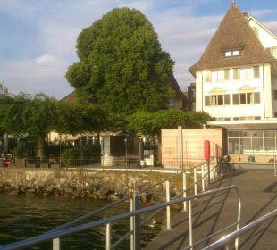 Vom Schiff aus Romantik Seehotel Sonne