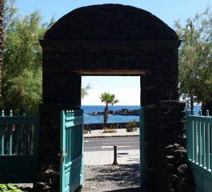 Weg zum Strand Hotel Hacienda San Jorge