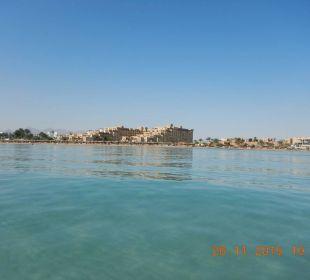 Blick vom Meer Hotel Shams Safaga