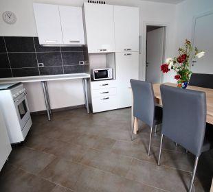 Küche 3-Zi-Wg LUNGOMARE Holiday Residence Rifugio