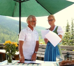 Geistlicher und Frau Ronacher Thermenhotel Ronacher