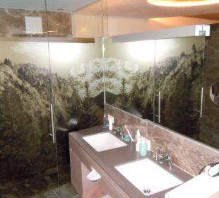 Badezimmer mit sep. WC und Dusche Alpin & Relax Hotel Das Gerstl