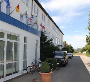Hoteleigene Zufahrt, Best Hotel Mindeltal Best Hotel Mindeltal