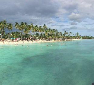Strand vom Steg Dreams La Romana Resort & Spa