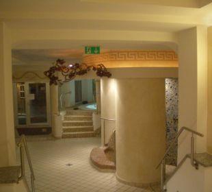 Wellnessbereich (Ausschnitt) Ebner's Wohlfühlhotel Gasthof Hintersee